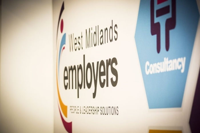 Image of WME Stand - sponsors of West Midlands Coaching and Mentoring Pool Conference